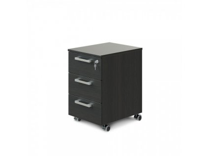 Mobilní kontejner TopOffice Premium 40,8 x 50,4 cm / Wenge
