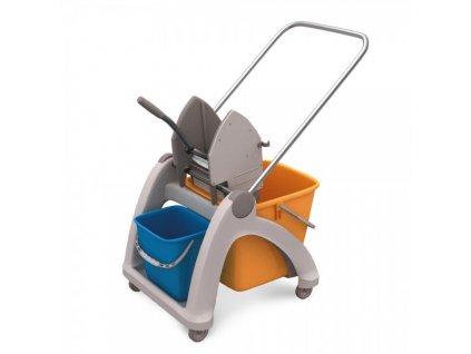 Úklidový vozík Jerry - dvoukbelíkový