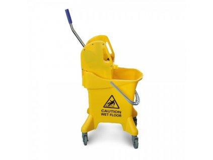 Úklidový vozík Earl - jednokbelíkový