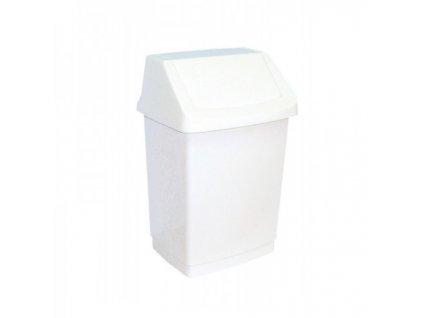 Odpadkový koš s víkem plastový 15 l