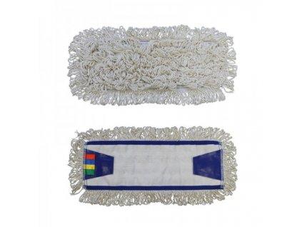 Mop se záložkami Standard, 40 cm - bavlna