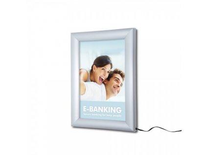Světelný LED klaprám A4