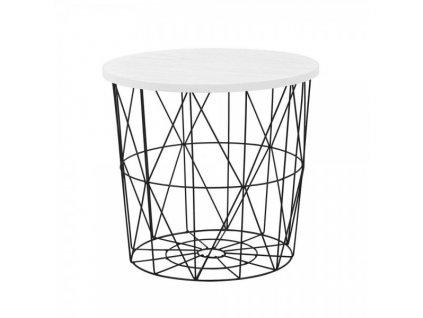 Konferenční stolek Mariffa II / Bílá