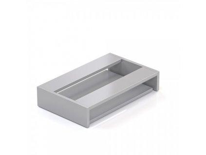 Deska pod stůl pro klávesnici Visio LUX / Šedá