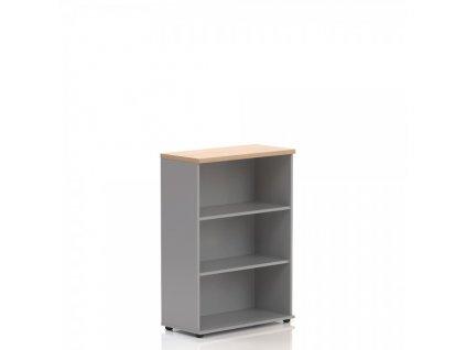 Střední skříň Visio LUX 80 x 38,5 x 113 cm / Dub