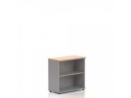 Nízká skříň Visio LUX 80 x 38,5 x 76 cm / Dub