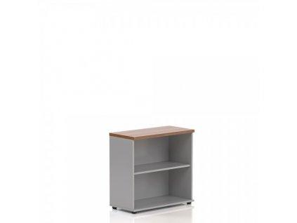 Nízká skříň Visio LUX 80 x 38,5 x 76 cm / Ořech