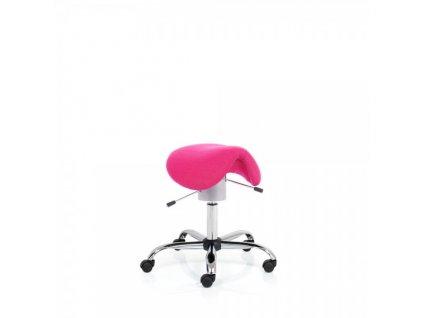 Zdravotní židle Ergo Flex / růžová