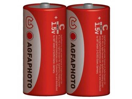 Zinková baterie AgfaPhoto R14/C, 1,5 V, 2 ks