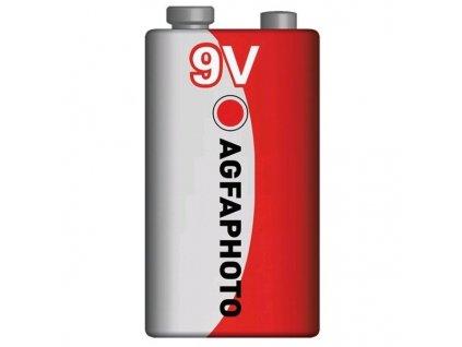 Zinková baterie AgfaPhoto 9 V, 1 ks
