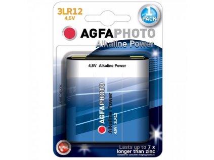 Power alkalická bateria AgfaPhoto 4,5 V, blistr 1 ks