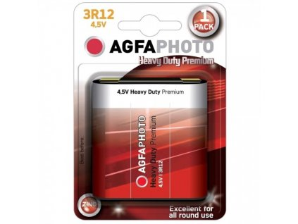 Zinková baterie AgfaPhoto 4,5 V, blistr 1 ks