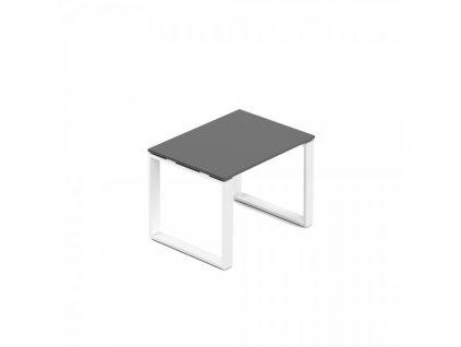 Konferenční stolek Creator 80 x 60 cm, bílá podnož / Antracit