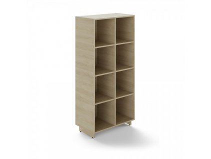 Vysoká skříň Trevix 80 x 44 x 169 cm / Dub pískový