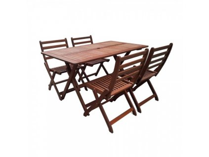 Zahradní stolová sestava Laurin - 4 místa