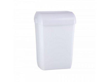 Závěsný otevřený koš Merida Hygiene Control 23 l / bílá
