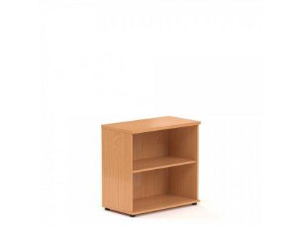 Nízká skříň Visio 80 x 38,5 x 76 cm / Buk