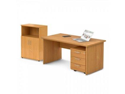 Sestava kancelářského nábytku Visio 2 / Buk