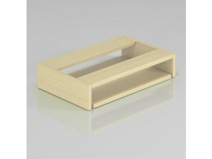 Deska pod stůl pro klávesnici - výprodej / Javor