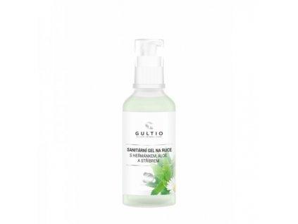 Sanitární gel na ruce s aktivním stříbrem Gultio 50 ml