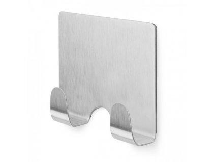Dvojitý magnetický háček Compactor / stříbrná