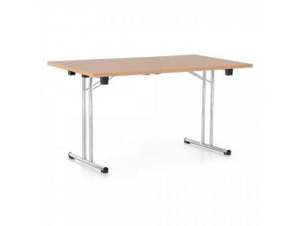 Skládací stůl 140 x 80 cm / Buk