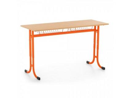 Školní lavice Denis, nastavitelná - vel. 5-7, zaoblené rohy