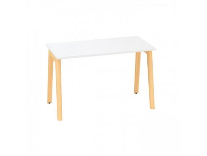 Kancelářský stůl Alfa Root 120 x 80 cm / bílá