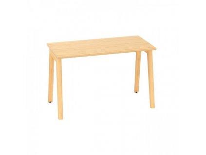 Kancelářský stůl Alfa Root 120 x 80 cm / dub