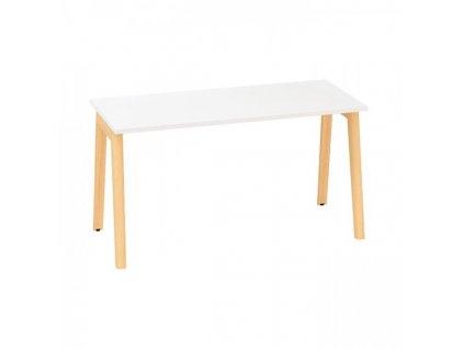 Kancelářský stůl Alfa Root 140 x 80 cm / bílá