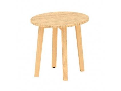 Konferenční stolek Alfa Root 50 x 50 cm / dub