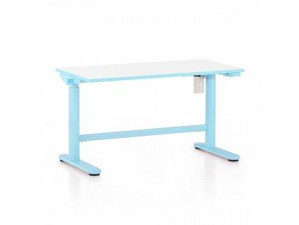 Výškově nastavitelný stůl OfficeTech Kids, 100 x 50 cm