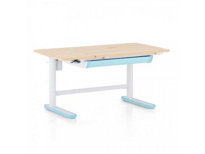 Výškově nastavitelný stůl OfficeTech Kids 2, 112 x 60 cm