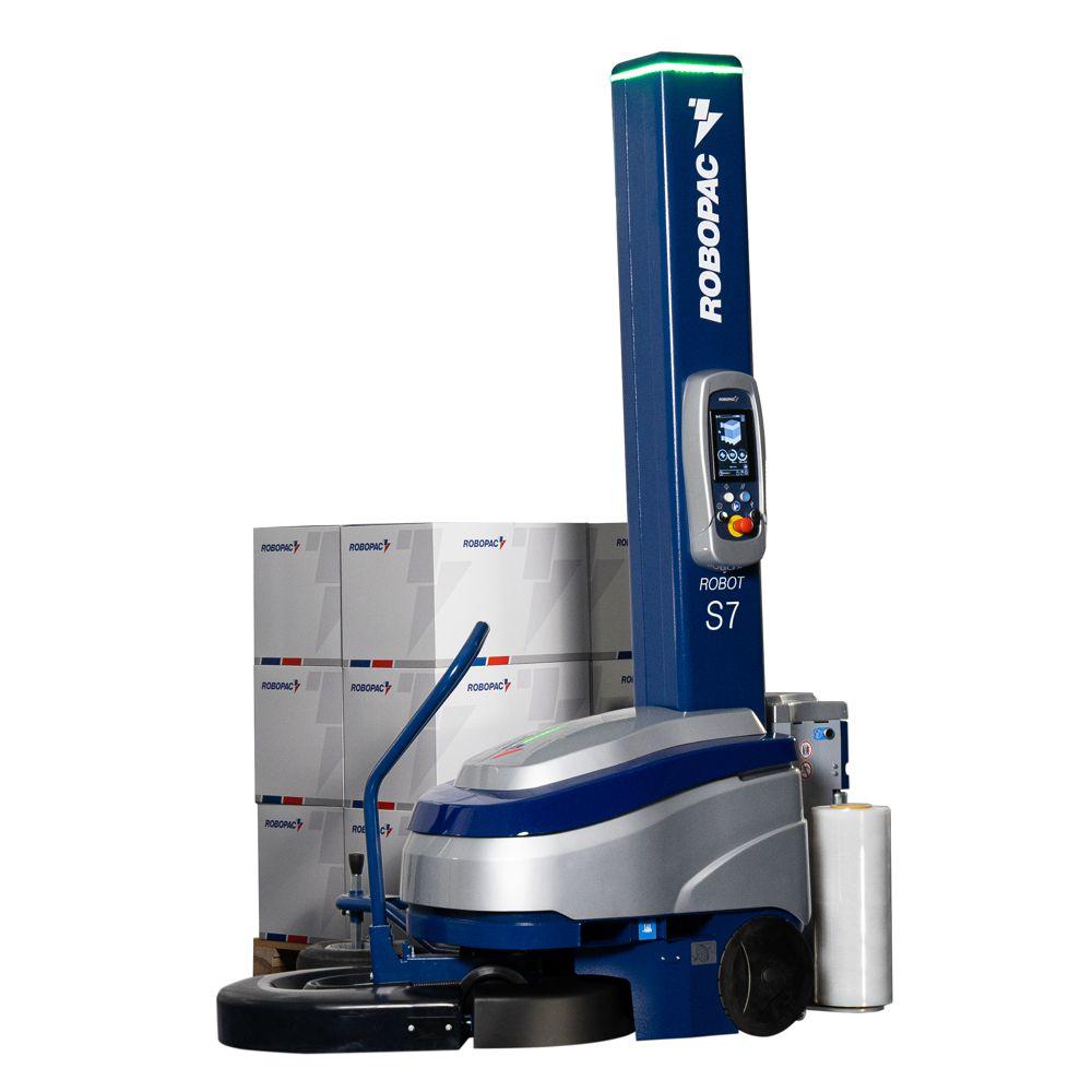 Nový ovinovací stroj ROBOPAC ROBOT S7