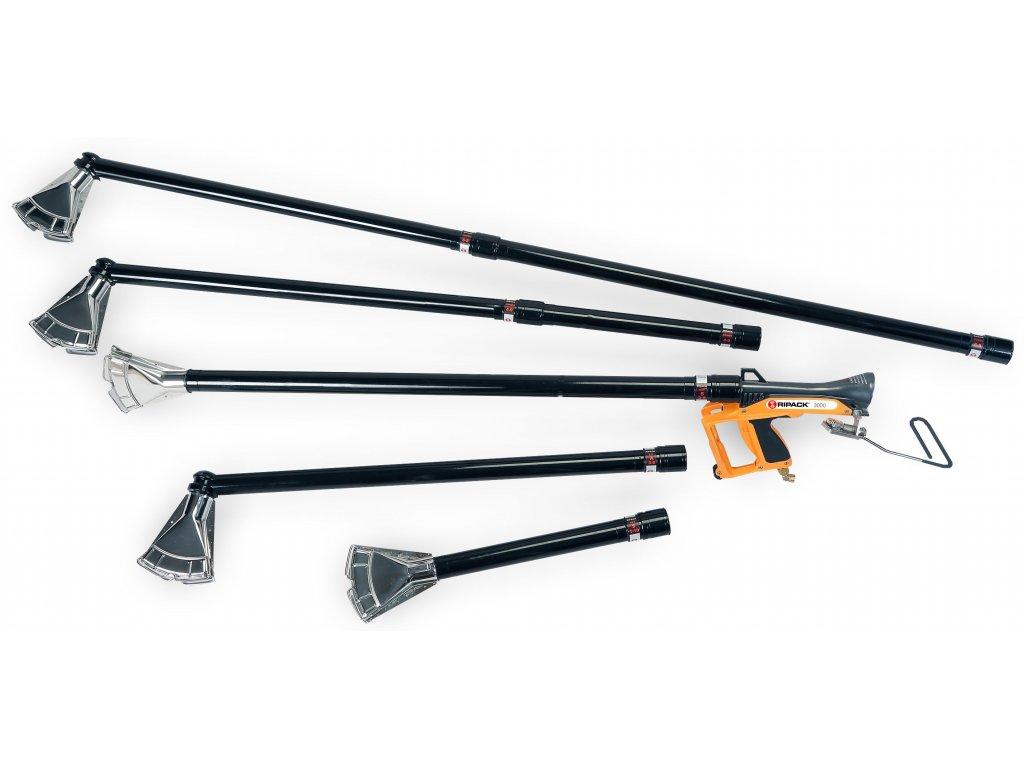 Nástavce pro pistole RIPACK (RIPACK EXT S 3-9 - Rovná násada délky 1,15m, váha 530 g)