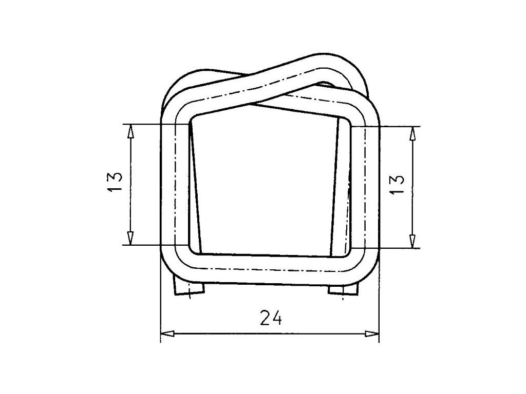 1236 dratena spona sire 13 mm