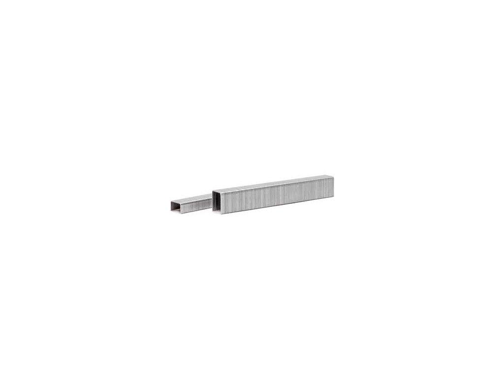 Kartonážní sponky JK 779 (Spony Josef Kihlberg JK 779-22 - délka nohy 22 mm, šířka spony 12.5 mm, šířka nohy 1.3 mm, tl.nohy 0.6 mm)