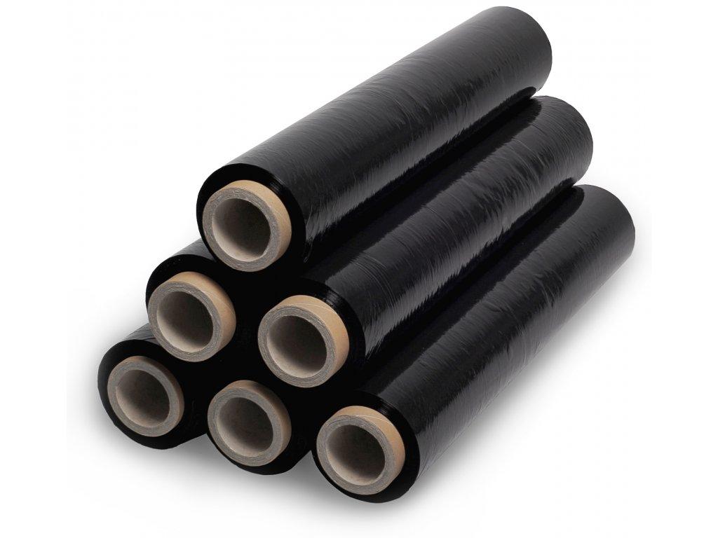 1311 1 karton cerne stretch folie 6ks 23 m 500 mm