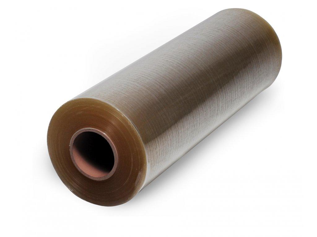 Teplem smrštitelná fólie PVC - 250 mm (Fólie FD 25030  - PVC, šíře 250 mm, tloušťka 30 µm, návin 400m)