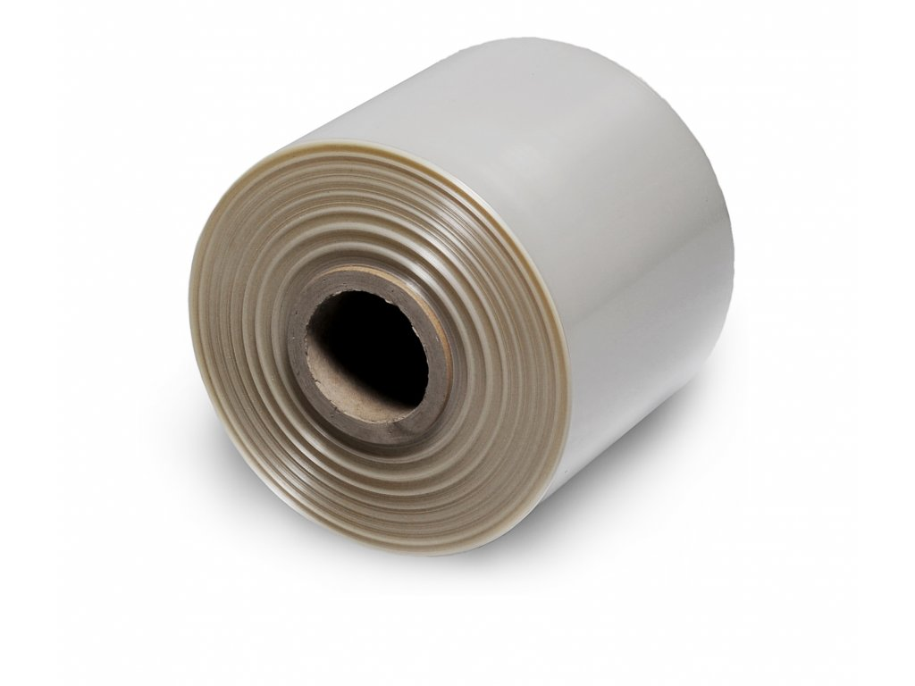 Polyolefická fólie - 200 mm, 19 µm (Fólie FD 20019  - PVC, šíře 200 mm, tloušťka 19 µm, návin 1000 m)