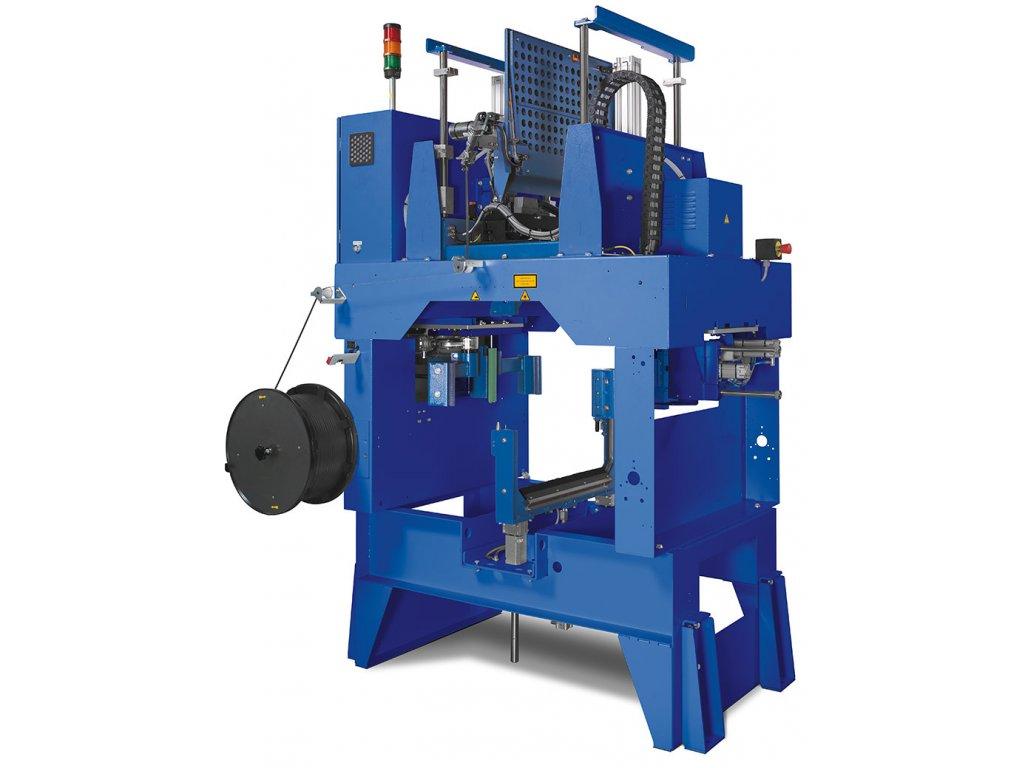 528 3 mosca mk 44 plne automaticky paskovaci stroj pro stavebni prumysl