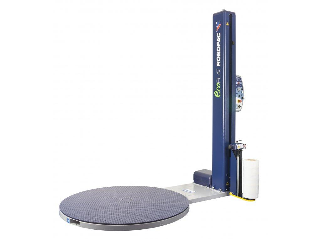 Ovinovací stroj ECOPLAT PLUS (Ovinovací stroj ECOPLAT PLUS FRD - s pokročilým ovládacím panelem a funkcemi, jednotkou FRD pro mechanické napínání fólie a mechanické ovládání)