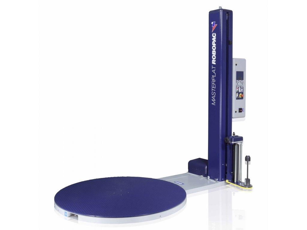 Ovinovací stroj MASTERPLAT PLUS (Ovinovací stroj MASTERPLAT PLUS PGS - s fixním předepínáním fólie 250% a ovládáním napínání z ovládacího panelu)