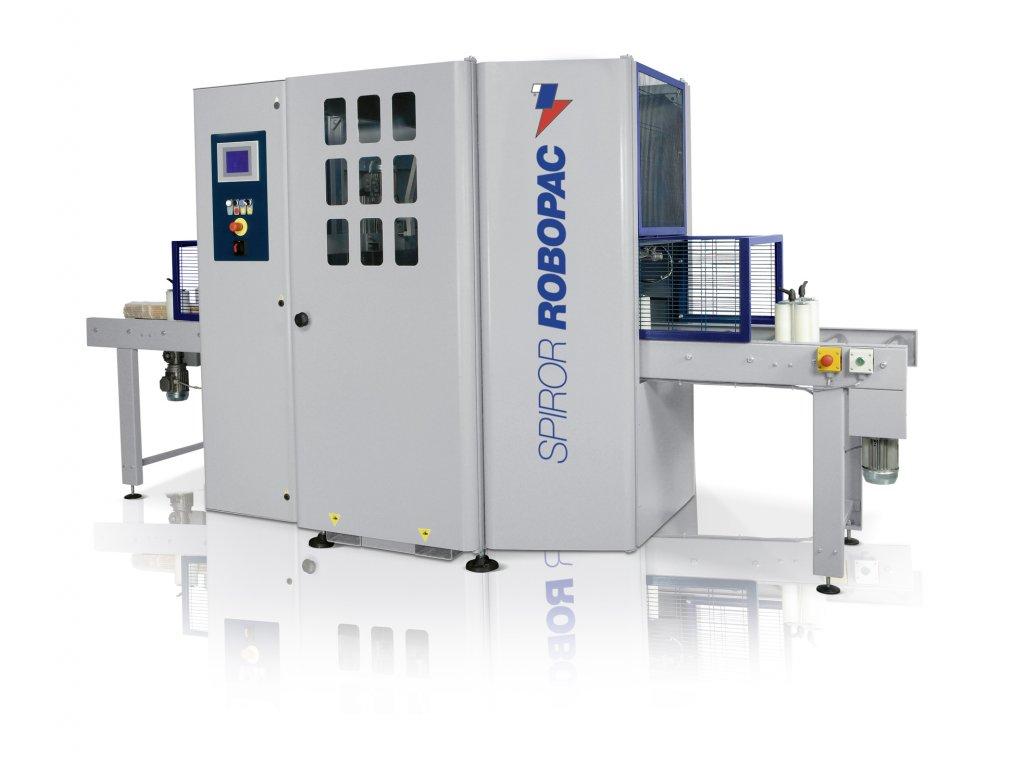 SPIROR HP DR 400 - Automatická ovíječka se 2 rolemi fólie (Ovinovací stroj SPIROR HP DR 400-250 - pro šíři stretch fólie250 mm)
