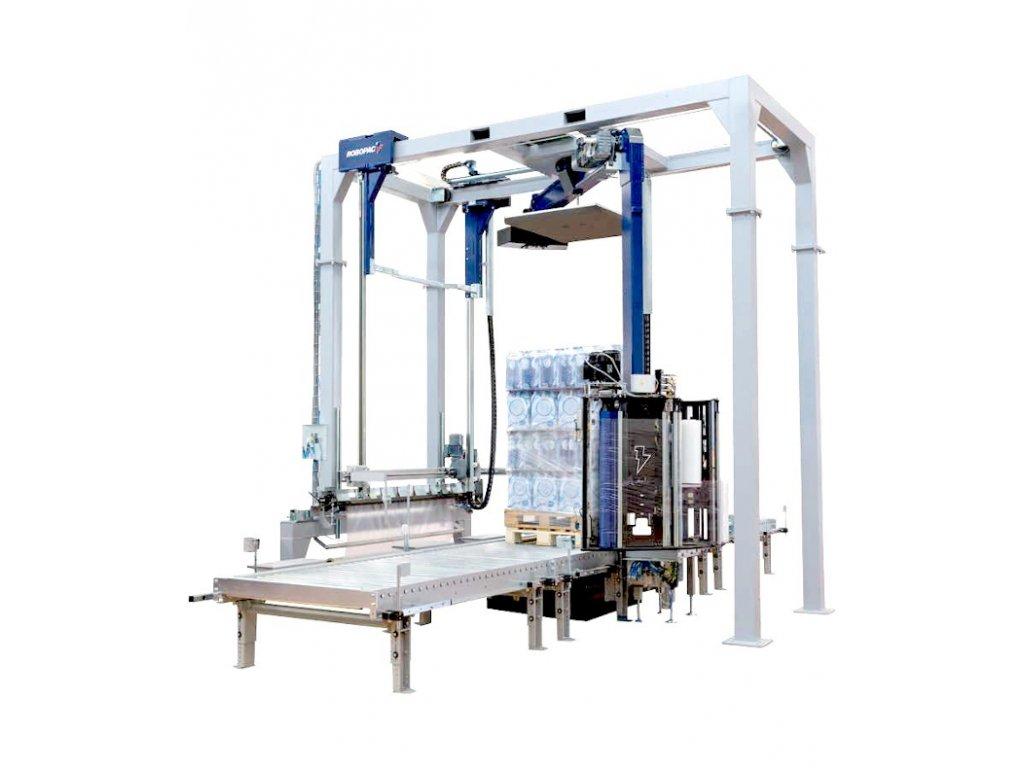 819 automaticky ovijeci s stroj s ramenem helix max