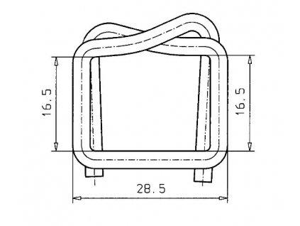 1239 dratena spona sire 16 mm