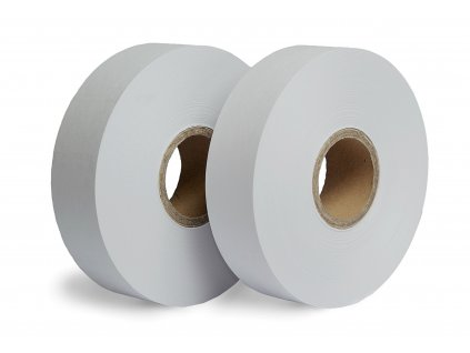 Bílá papírová páska - Tepelný svár (Vázací páska PW8050150C 50 mm 150 m 80 g / m² 50 mm 24 ks 30 ks MS)