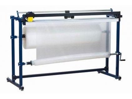 Odvíječ fólie s měřidlem (Odvíječ fólie H150-M - max.šíře fólie 1000 mm, celkové rozměry š.d.v. 2000x830x1250 mm)