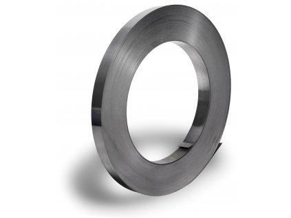 Ocelová páska - 16x0.5 mm (Vázací páska Ocelová - 1605 OC 350 - rozměr pásky 16x0.5 mm, vnitřní průměr pásky 350 mm)