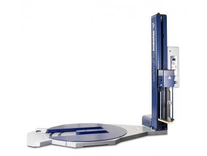 Ovinovací stroj MASTERPLAT PLUS TP3 (Ovinovací stroj MASTERPLAT PLUS TP3 PGS - s fixním předepínáním fólie 250% a ovládáním napínání z ovládacího panelu)